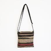 Long Strap Purse Indian Print - Small